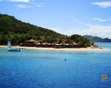 Castaway Island Resort visto da South Sea Cruises - Mamanuca - Fiji