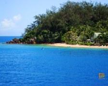 Malolo Island Resort visto da Walu Beach Resort - Mamanuca - Fiji