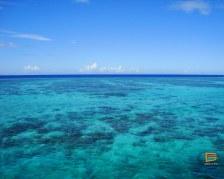 Il mare davanti a Mana visto dal Tiger 4 - South Sea Cruises