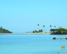 Passaggio tra Malolo Lailai e Malolo visto da Plantation Island Resort