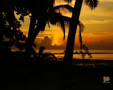 Tramonto visto da Walu Beach Resort - Mamanuca - Fiji