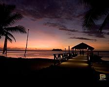 Un tramonto su Malolo Lailai