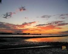 Tramonto da Marine Drive a Lautoka