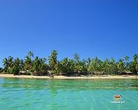 Una delle spiagge di Plantation Iland Resort