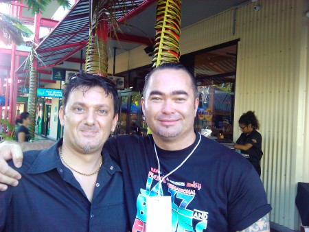 Ivan e Billy TK Jnr al 2011 Fiji International Jazz & Blues Festival