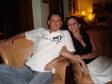 Ivan e Anna al Lounge Bar dell' Outrigger Hotel, Coral Coast