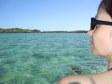 Anna in giro in barca a Malolo Lailai