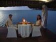Cena romantica sul molo a Musket Cove Resort