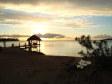 Tramonto dal pontile di Musket Cove Resort