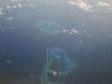 Isolette delle Lau viste dal volo Nadi - Tongatapu (Fiji - Tonga)