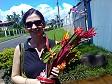 Anna ed il mazzo di fiori