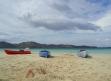 Sulla sand bank di Malolo Lailai