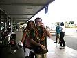Ivan e Anna all'aeroporto di Nadi