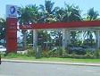 La stazione di servizio TOTAL a Lautoka